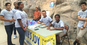 Reality Changers students at Jamie's Joy event in July 2014.